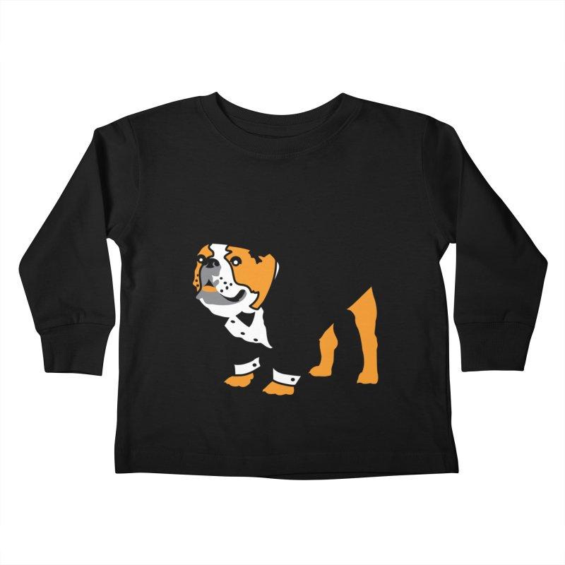 Top Dog Kids Toddler Longsleeve T-Shirt by mckibillo's Artist Shop
