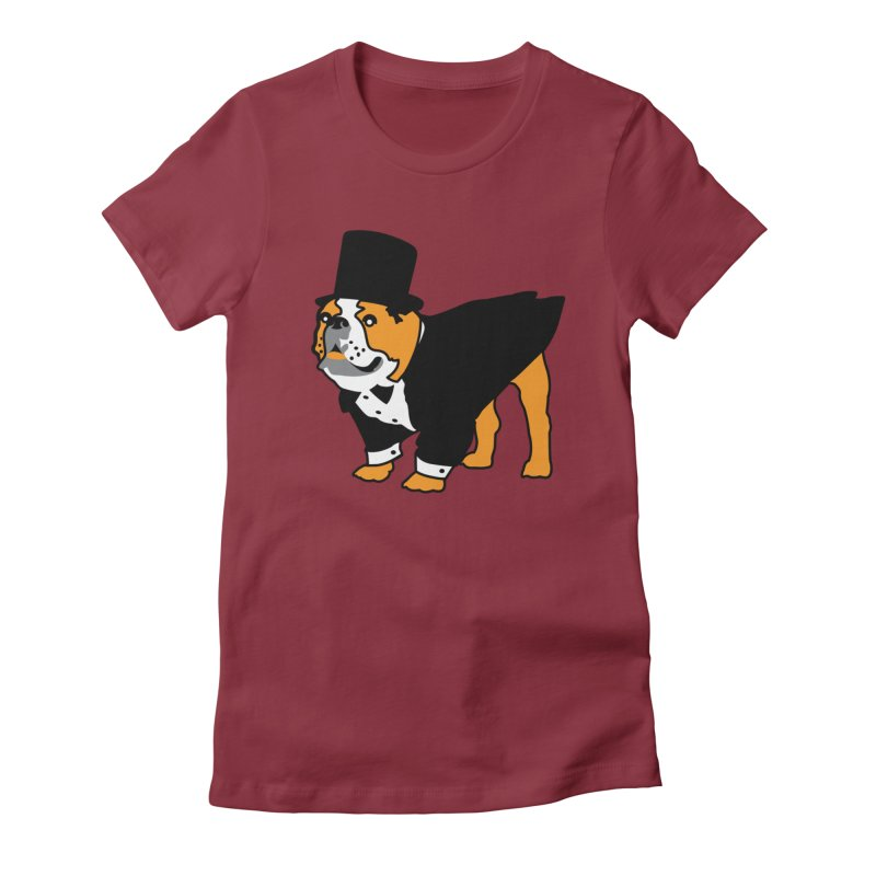 Top Dog Women's T-Shirt by mckibillo's Artist Shop