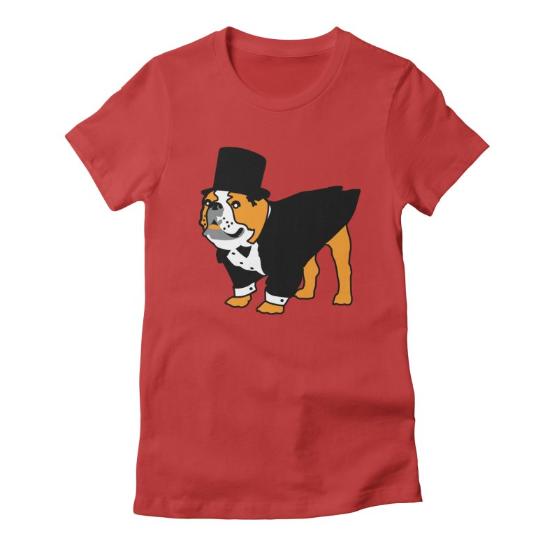 Top Dog Women's T-Shirt by mckibillo's Artist Shop