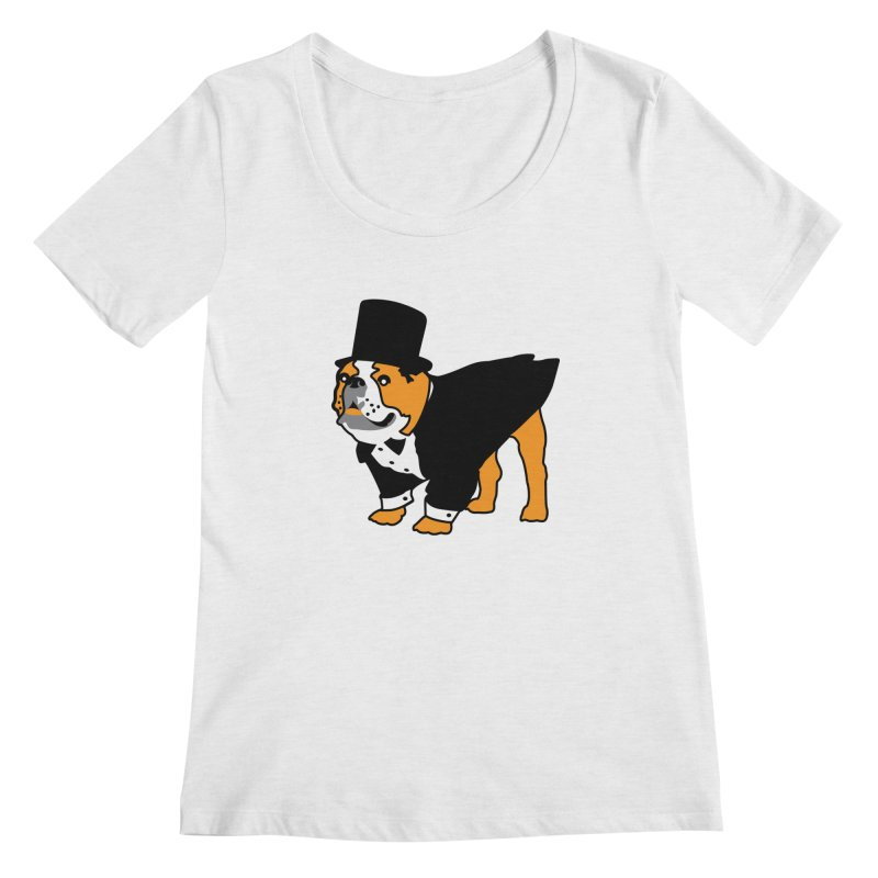 Top Dog Women's Scoop Neck by mckibillo's Artist Shop