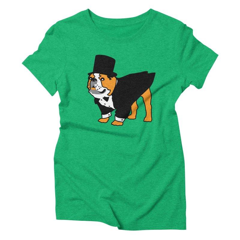 Top Dog Women's Triblend T-Shirt by mckibillo's Artist Shop