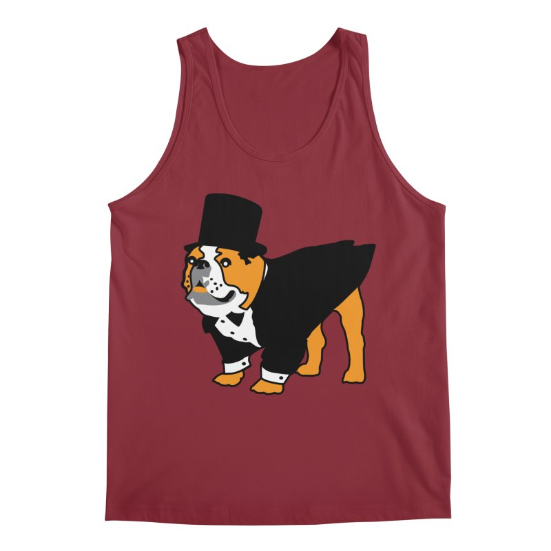 Top Dog Men's Tank by mckibillo's Artist Shop