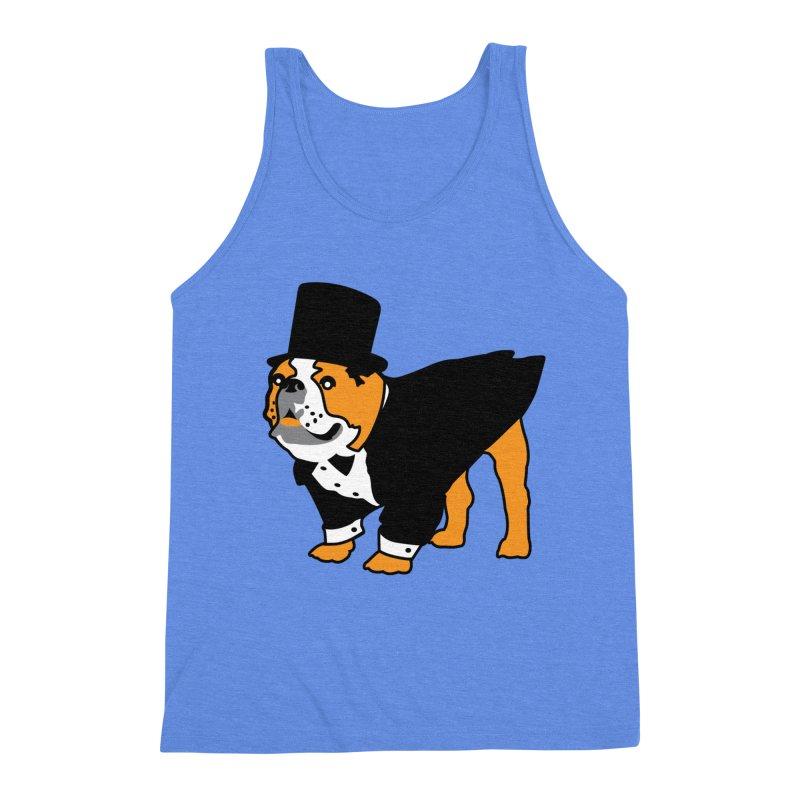 Top Dog Men's Triblend Tank by mckibillo's Artist Shop