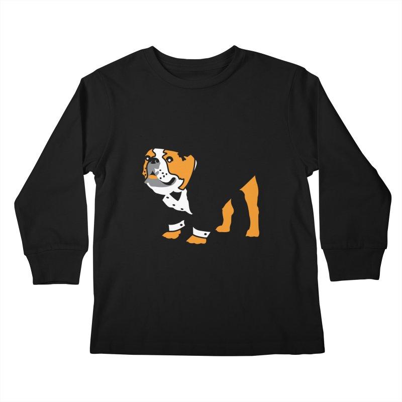 Top Dog Kids Longsleeve T-Shirt by mckibillo's Artist Shop