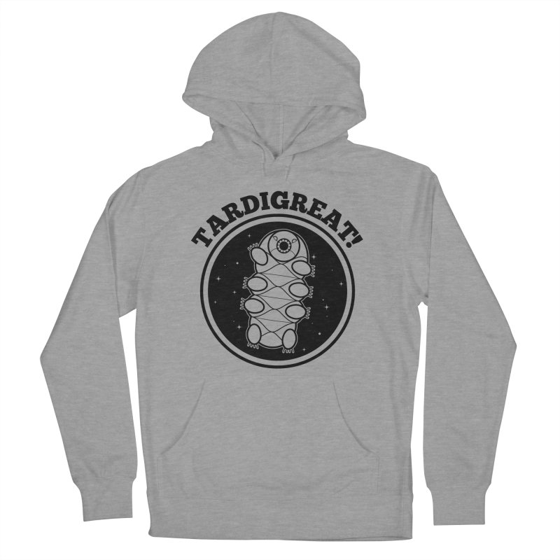 TardiGreat! Men's French Terry Pullover Hoody by mckibillo's Artist Shop