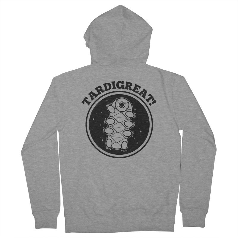TardiGreat! Women's French Terry Zip-Up Hoody by mckibillo's Artist Shop