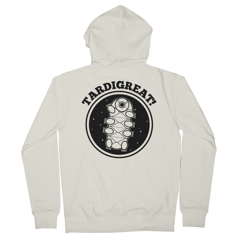 TardiGreat! Men's French Terry Zip-Up Hoody by mckibillo's Artist Shop
