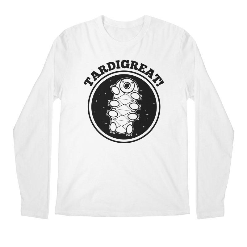 TardiGreat! Men's Regular Longsleeve T-Shirt by mckibillo's Artist Shop