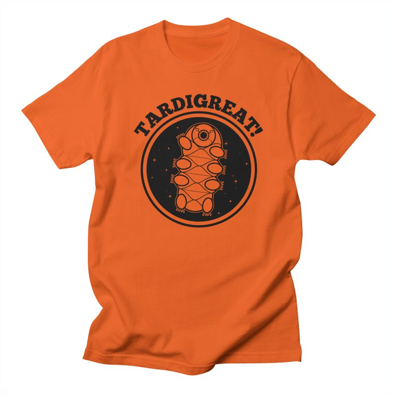 TardiGreat! Men's T-Shirt by mckibillo's Artist Shop