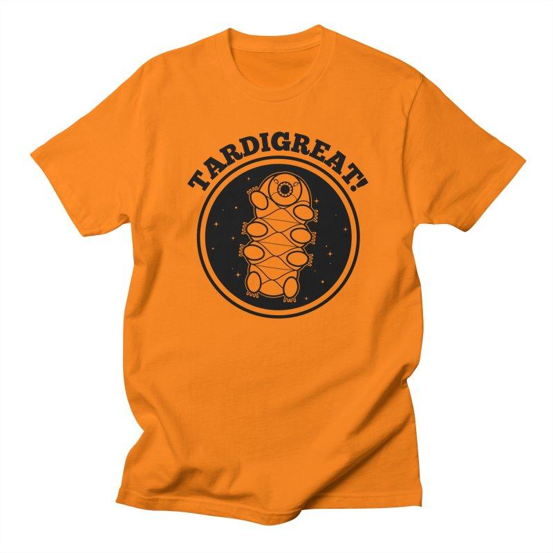 TardiGreat! Men's Regular T-Shirt by mckibillo's Artist Shop