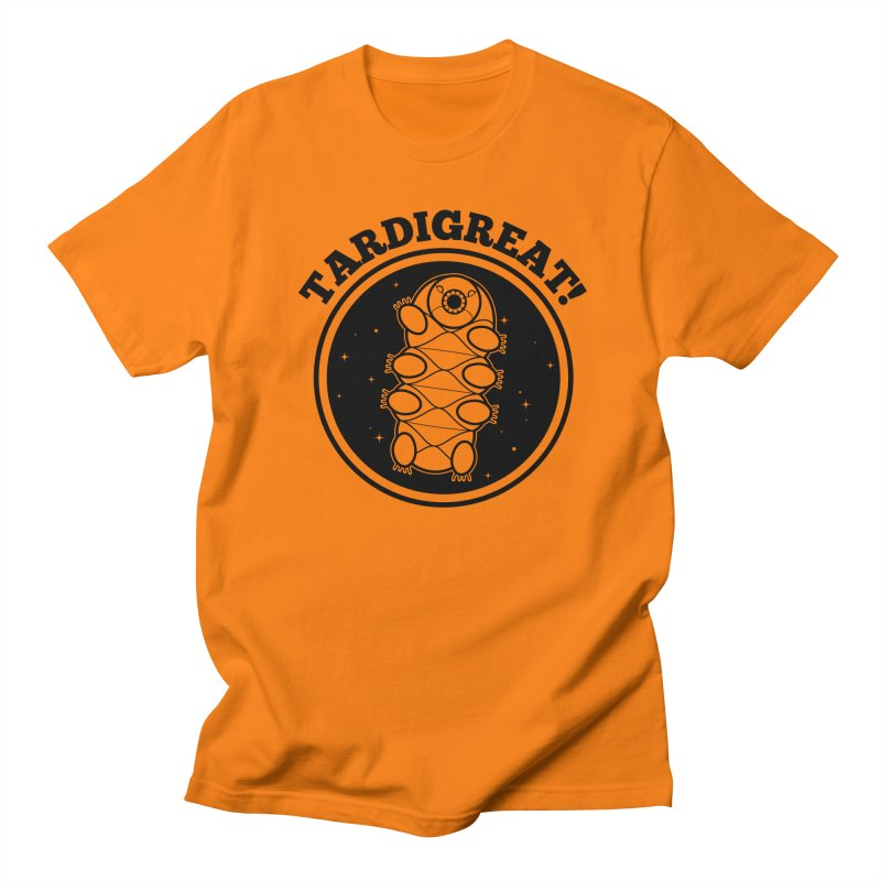 TardiGreat! Men's T-Shirt by mckibillo's Artist Shop