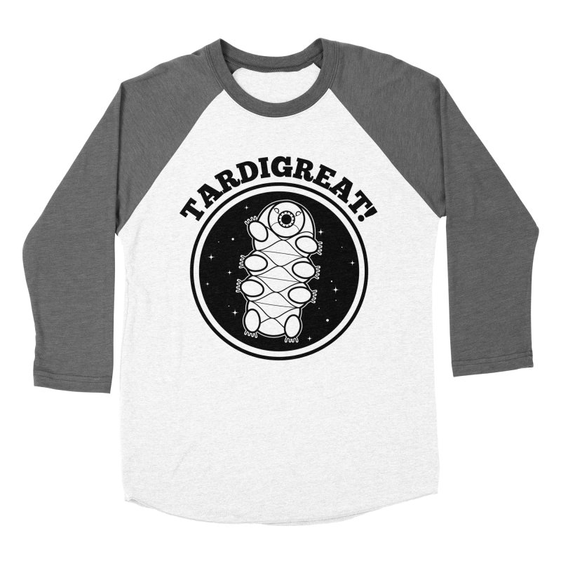 TardiGreat! Women's Baseball Triblend Longsleeve T-Shirt by mckibillo's Artist Shop