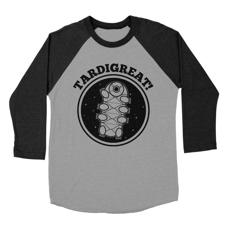TardiGreat! Men's Baseball Triblend Longsleeve T-Shirt by mckibillo's Artist Shop