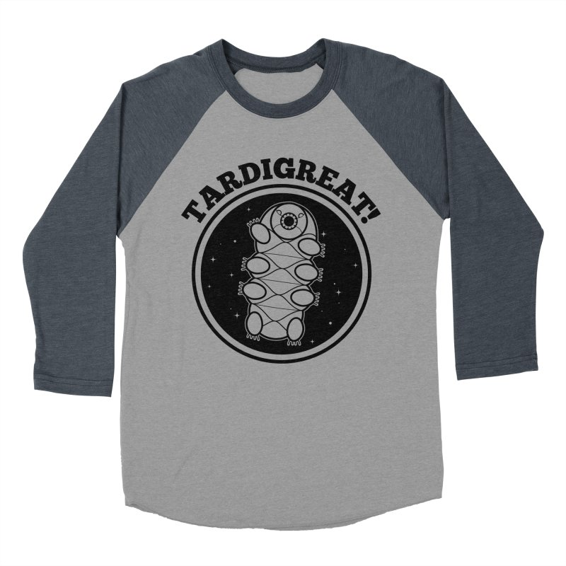 TardiGreat! Men's Baseball Triblend Longsleeve T-Shirt by mckibillo's Artist Shop
