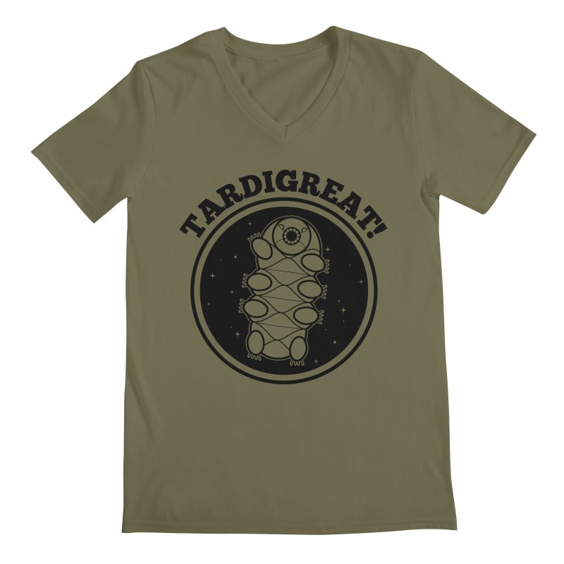 TardiGreat! Men's Regular V-Neck by mckibillo's Artist Shop