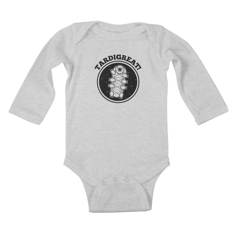 TardiGreat! Kids Baby Longsleeve Bodysuit by mckibillo's Artist Shop
