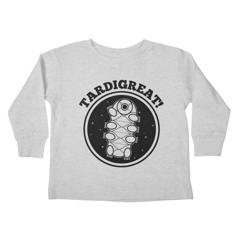 TardiGreat! Kids Toddler Longsleeve T-Shirt by mckibillo's Artist Shop