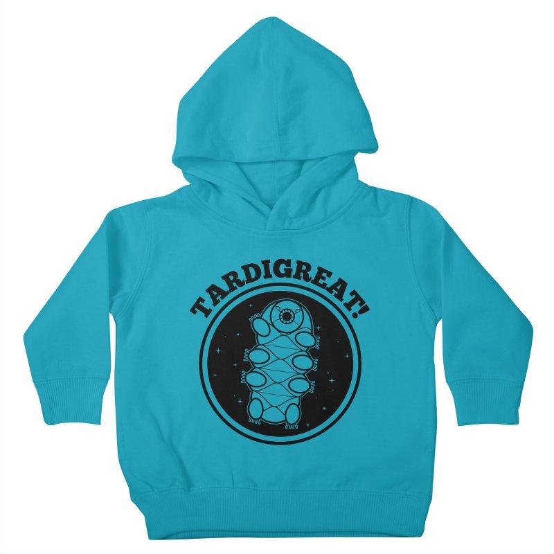 TardiGreat! Kids Toddler Pullover Hoody by mckibillo's Artist Shop