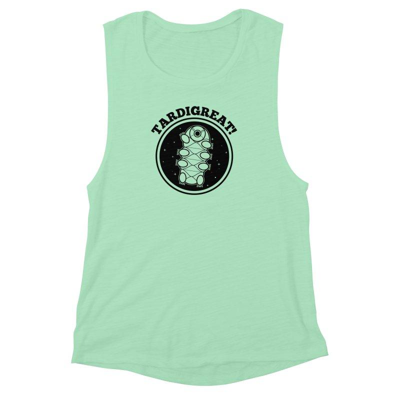 TardiGreat! Women's Muscle Tank by mckibillo's Artist Shop