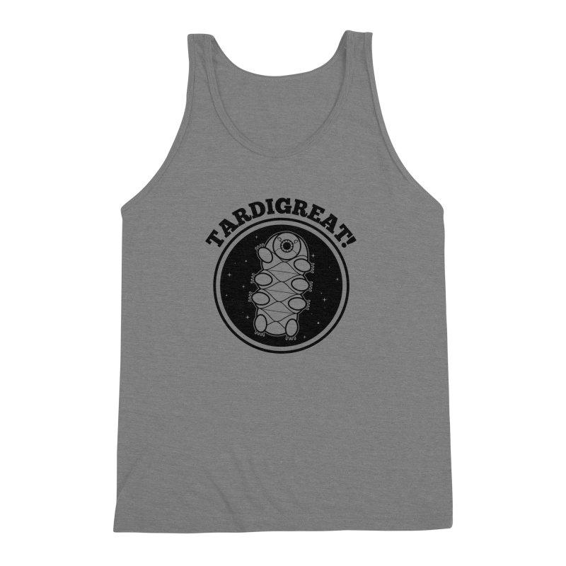 TardiGreat! Men's Triblend Tank by mckibillo's Artist Shop