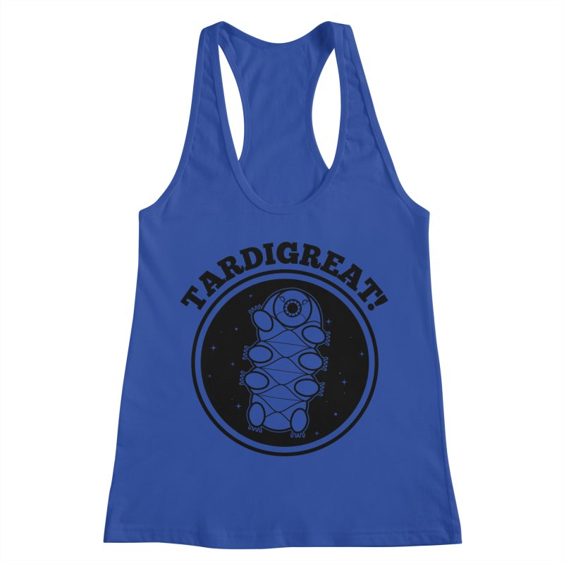 TardiGreat! Women's Racerback Tank by mckibillo's Artist Shop