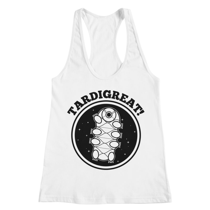TardiGreat! Women's Racerback Tank by mckibillo's Artist Shop