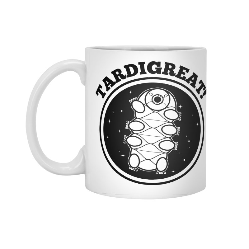 TardiGreat! Accessories Standard Mug by mckibillo's Artist Shop