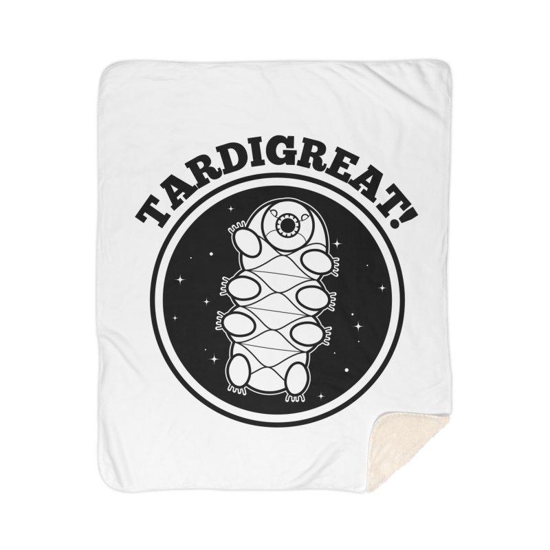 TardiGreat! Home Sherpa Blanket Blanket by mckibillo's Artist Shop