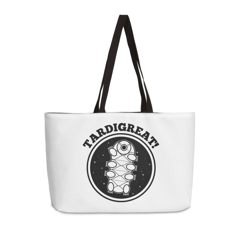 TardiGreat! Accessories Weekender Bag Bag by mckibillo's Artist Shop