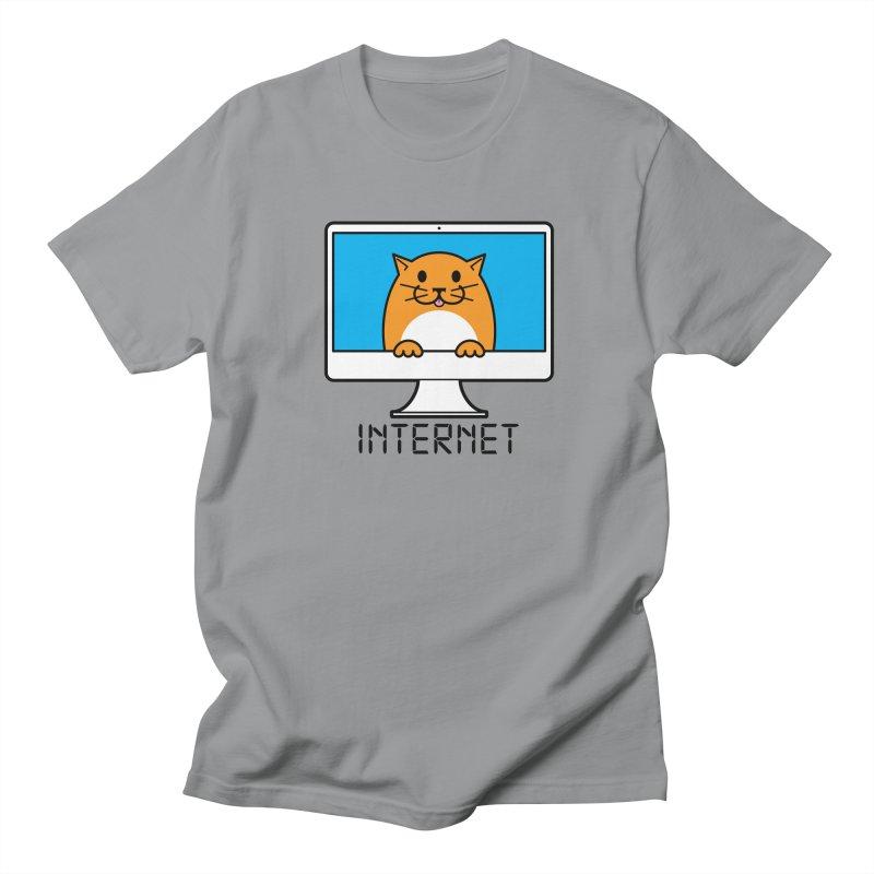 The Internet is made of Cats! Women's Regular Unisex T-Shirt by mckibillo's Artist Shop