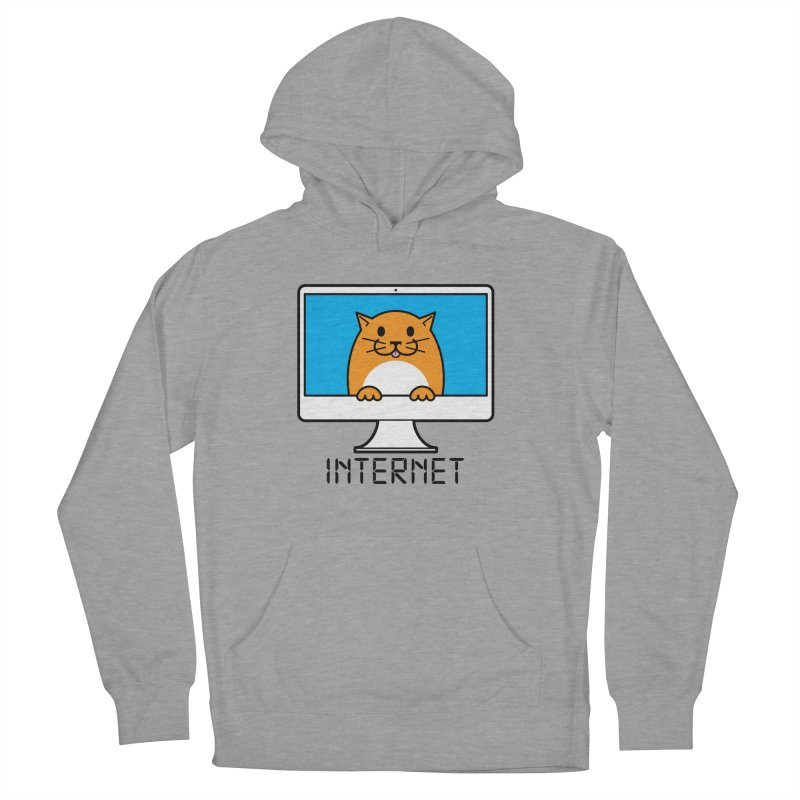 The Internet is made of Cats! Women's French Terry Pullover Hoody by mckibillo's Artist Shop