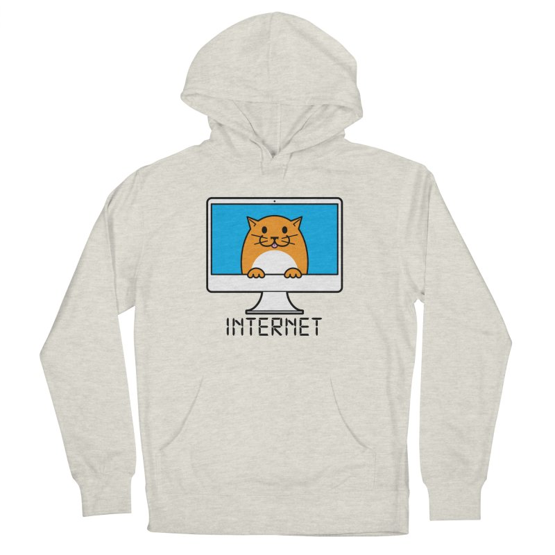 The Internet is made of Cats! Men's French Terry Pullover Hoody by mckibillo's Artist Shop