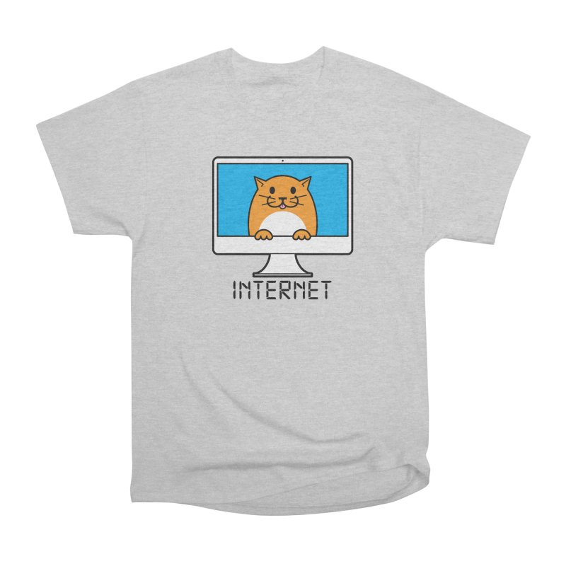 The Internet is made of Cats! Men's Heavyweight T-Shirt by mckibillo's Artist Shop