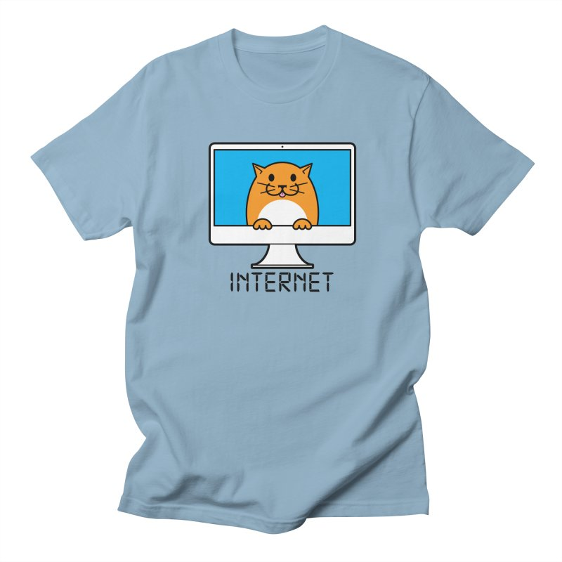 The Internet is made of Cats! Women's Regular Unisex T-Shirt by mckibillo's Artist Shop