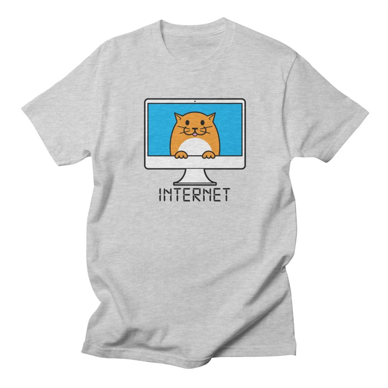 The Internet is made of Cats! Men's T-Shirt by mckibillo's Artist Shop