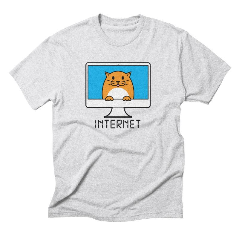 The Internet is made of Cats! Men's Triblend T-Shirt by mckibillo's Artist Shop