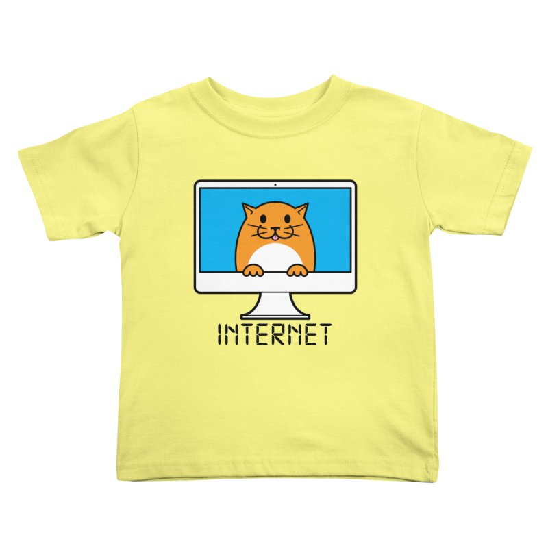 The Internet is made of Cats! Kids Toddler T-Shirt by mckibillo's Artist Shop