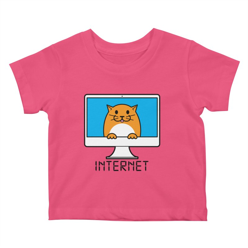 The Internet is made of Cats! Kids  by mckibillo's Artist Shop