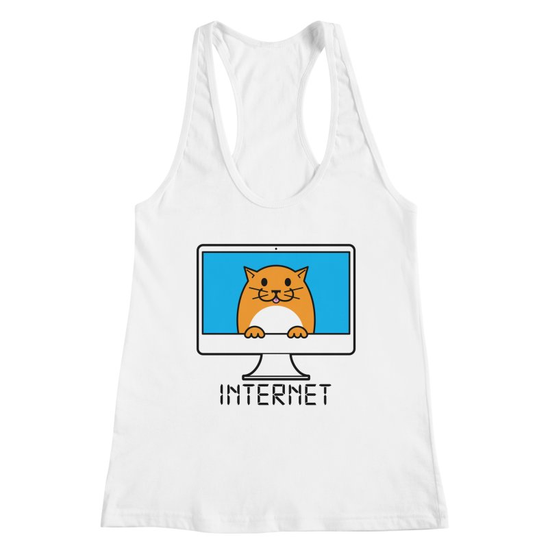 The Internet is made of Cats! Women's Tank by mckibillo's Artist Shop