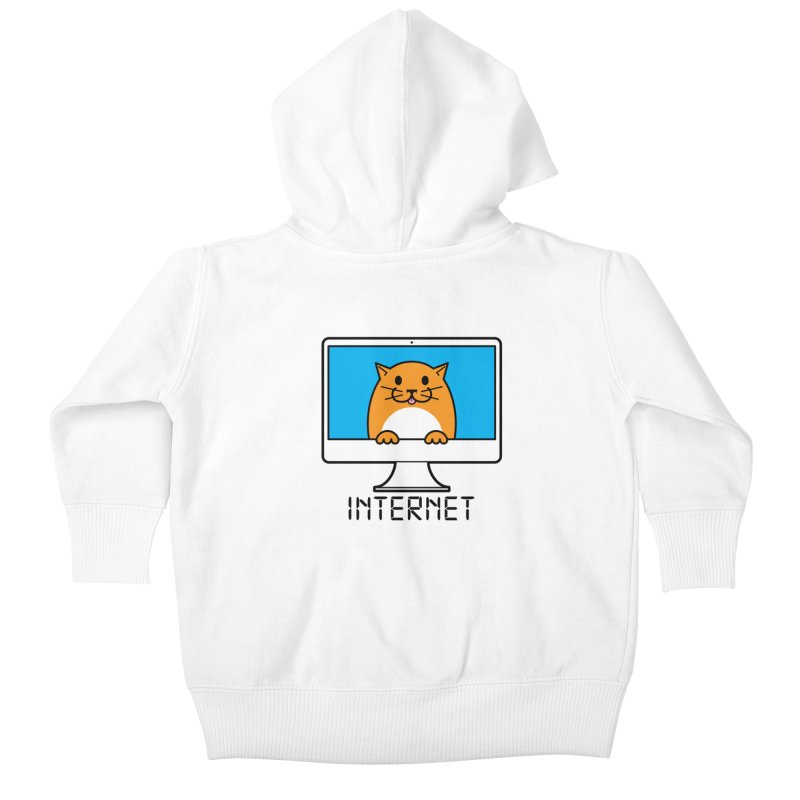 The Internet is made of Cats! Kids Baby Zip-Up Hoody by mckibillo's Artist Shop