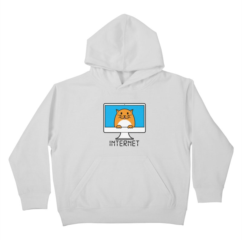 The Internet is made of Cats! Kids Pullover Hoody by mckibillo's Artist Shop
