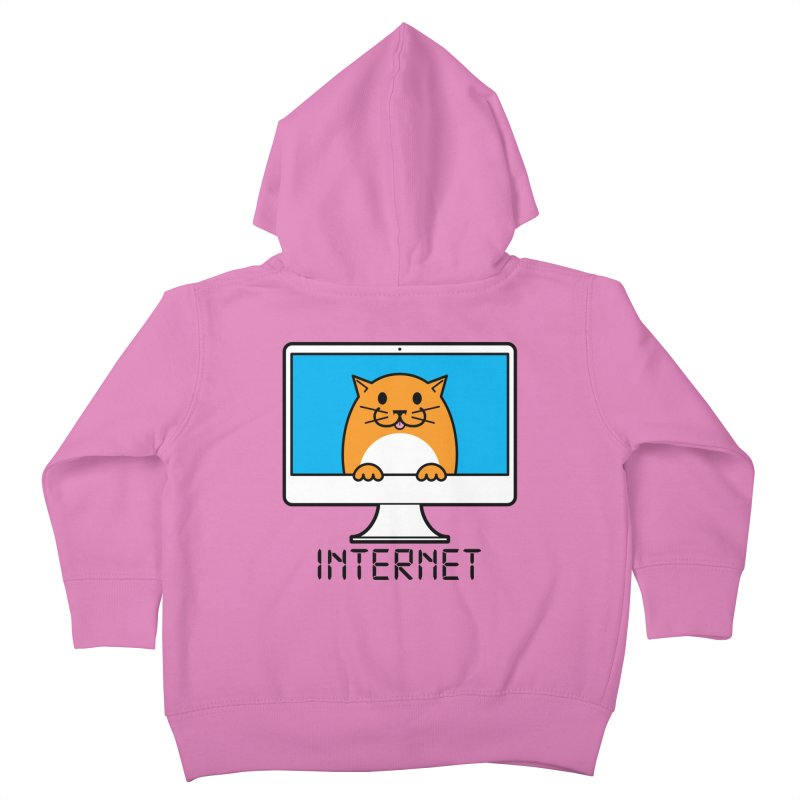 The Internet is made of Cats! Kids Toddler Zip-Up Hoody by mckibillo's Artist Shop