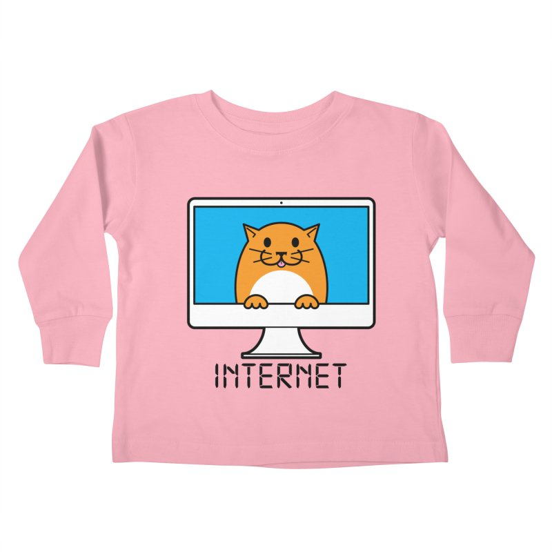 The Internet is made of Cats! Kids Toddler Longsleeve T-Shirt by mckibillo's Artist Shop