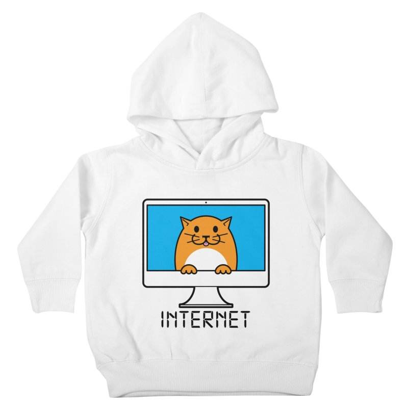The Internet is made of Cats! Kids Toddler Pullover Hoody by mckibillo's Artist Shop