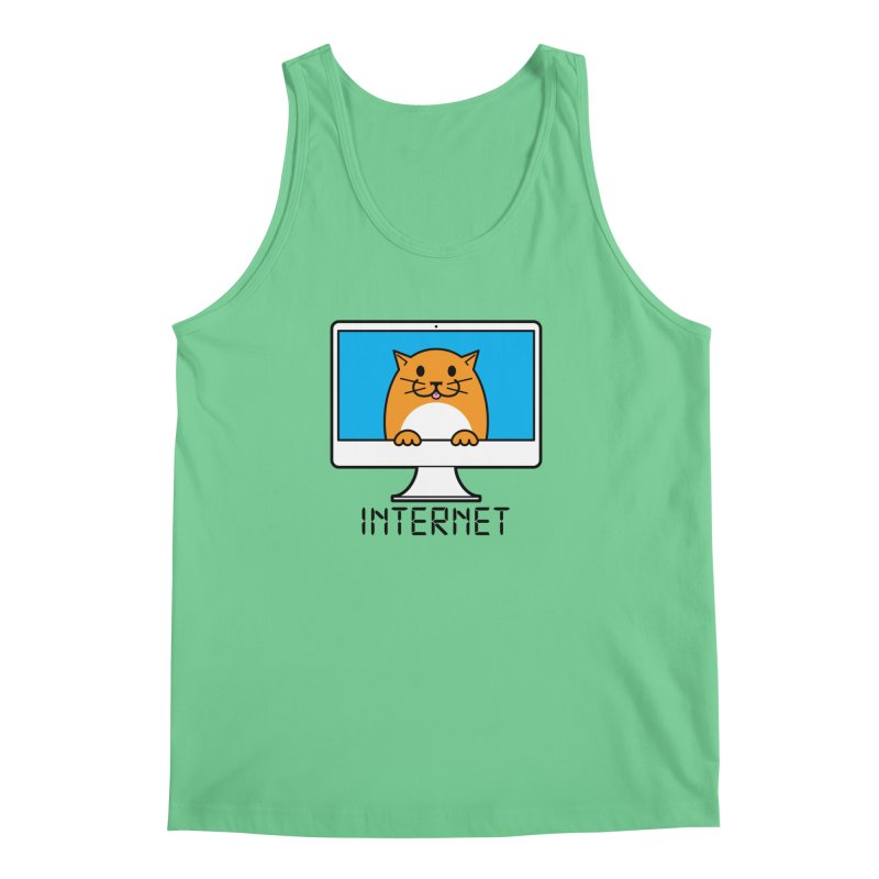 The Internet is made of Cats! Men's Tank by mckibillo's Artist Shop