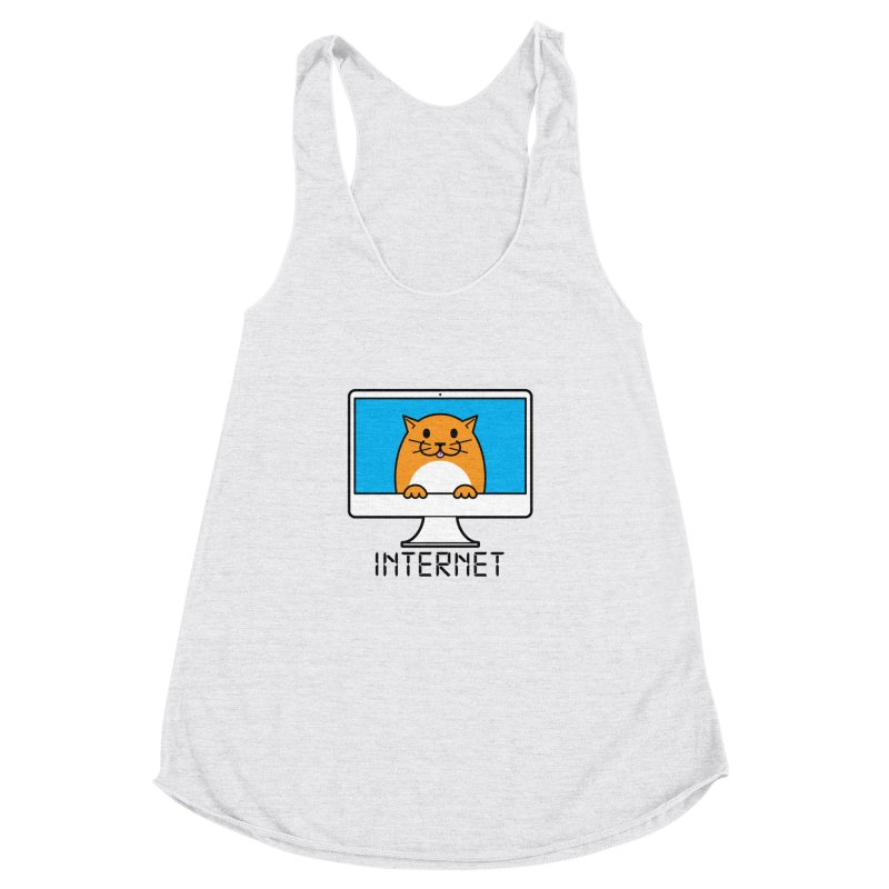 The Internet is made of Cats! Women's  by mckibillo's Artist Shop