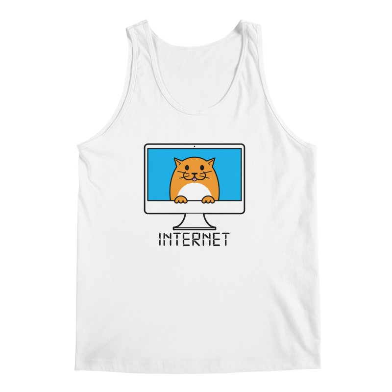 The Internet is made of Cats! Men's Regular Tank by mckibillo's Artist Shop