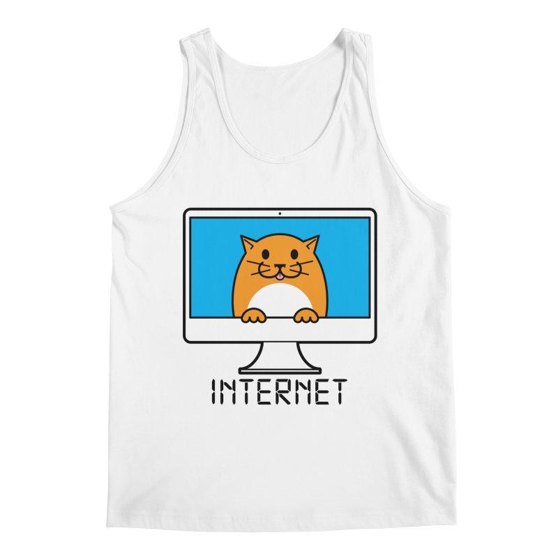 The Internet is made of Cats! Men's Regular Tank by mckibillo's Artist Shop