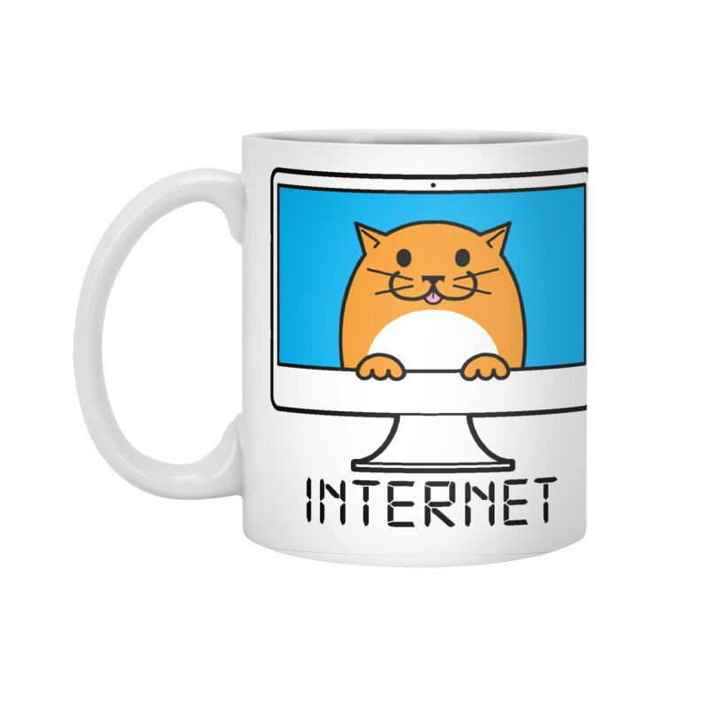 The Internet is made of Cats! Accessories Standard Mug by mckibillo's Artist Shop