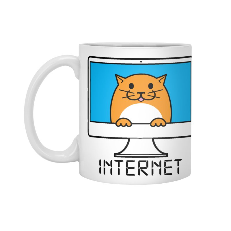 The Internet is made of Cats! Accessories Mug by mckibillo's Artist Shop